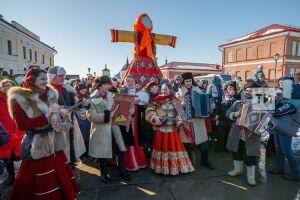 Проводить зиму на остров-град Свияжск приехали более 15 тыс. человек