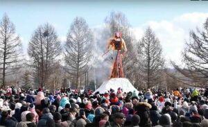 В Нижнекамске народными гуляньями отпраздновали Масленицу