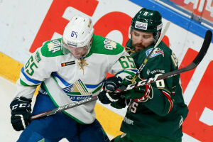 «Салават Юлаев» повел со счетом 2:0 в виртуальной серии плей-офф КХЛ с «Ак Барсом»