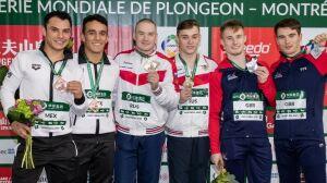 Татарстанцы взяли три медали на этапе Мировой серии FINA по прыжкам в воду в Монреале
