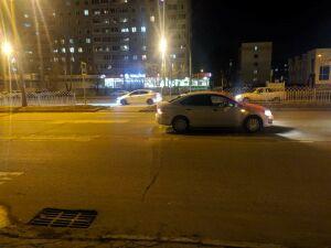 В Набережных Челнах иномарка сбила двух девушек, переходивших дорогу по «зебре»