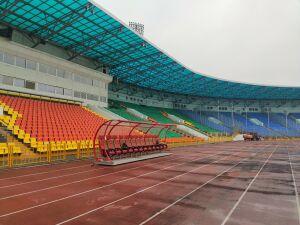 Слуцкий решил изменить расположение скамейки «Рубина» на Центральном стадионе