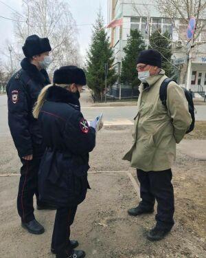 В Заинском районе усилили патрулирование границ и улиц населенных пунктов