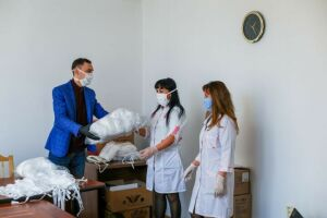 Более 2 тыс. защитных масок направлено в социальные службы Бугульмы