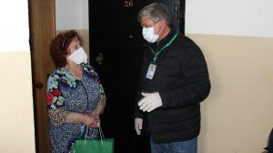 Руководитель Зеленодольского района доставил продукты местной жительнице