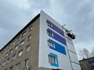 Фасады пятиэтажек в Менделеевске раскрасят в яркие цвета