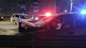 После лобового столкновения двух авто в Лениногорске госпитализированы оба водителя