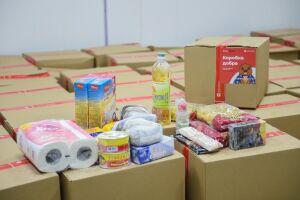 Жителям Камских Полян доставят месячные продуктовые наборы