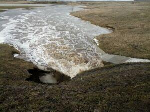Подъем воды в реке Чебоксарке грозит подтопить село в Новошешминском районе РТ