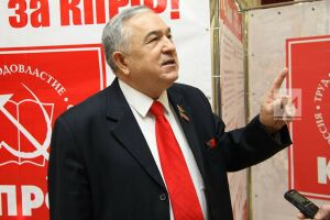 Глава фракции КПРФ в Госсовете РТ Хафиз Миргалимов сдал тест на коронавирус