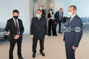 Минниханов посетил редакцию информационного агентства «Татар-информ»