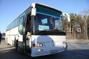 Возобновлен ряд пригородных автобусных маршрутов из Казани