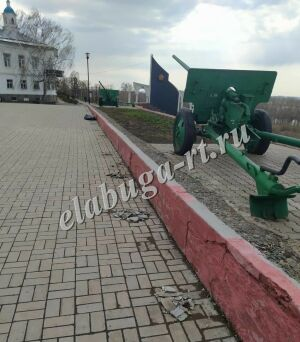 В Елабуге к 9 Мая реконструируют Мемориал Памяти