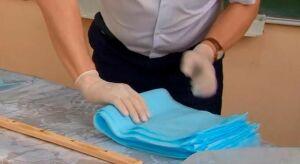Одно из предприятий Нижнекамска предоставило бесплатный материал для пошива масок