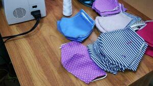 Более тысячи масок изготовили буинские педагоги и раздали их жителям