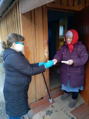 Тетюшские спортсмены стали волонтерами и оказывают помощь пожилым