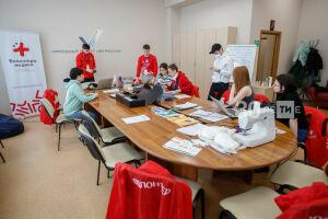 За две недели волонтеры в Казани помогли 1,7 тыс. жителей