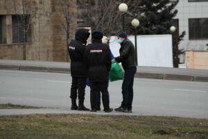 За нарушение режима самоизоляции накажут 39 казанцев