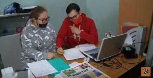 Волонтеры в Набережных Челнах приносят не только продукты и медикаменты, но и новости