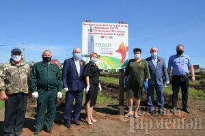 В Черемшане высадили 2 тыс. юбилейных лиственниц в честь 100-летия ТАССР