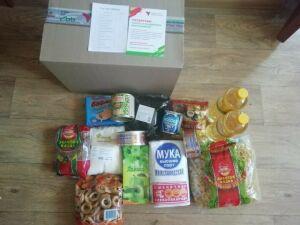 В Тетюши прибыла первая партия продуктовых наборов «Ярдәм янәшә! Помощь рядом!»