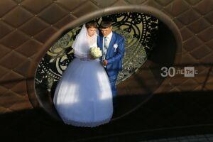 Из-за Covid-19 число регистраций браков в Татарстане упало в два раза