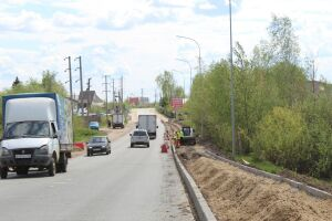 В зеленодольском поселке Васильево появится новый тротуар