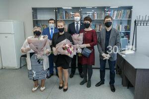 Династию «Идел-Пресс» с общим стажем работы 126 лет поздравили с Днем семьи