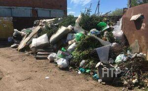 В Нижнекамске за майские праздники в дачных массивах скопились горы мусора