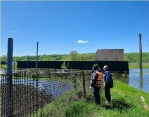 В четырех районах Татарстана паводковыми водами затопило 20 садовых участков