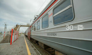 В Татарстане начнут штрафовать пассажиров электричек без масок и перчаток