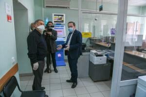 Рустам Минниханов ознакомился с работой татарстанского отделения Пенсионного фонда
