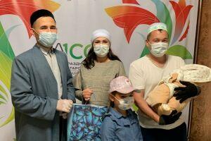 В Нурлатском мухтасибате запустили акцию для семей с новорожденными детьми