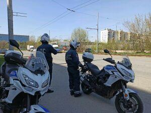 В шлемах и с документами: в Казани ГИБДД провела рейды после ДТП с погибшим байкером