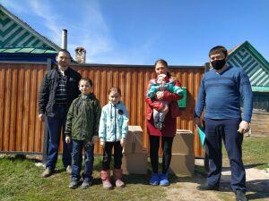 В селах Пестречинского района началась раздача продуктов по акции «Помощь рядом!»