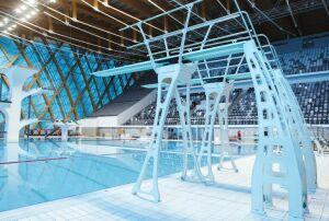 В казанском ДВВС установили новое оборудование для прыжков в воду