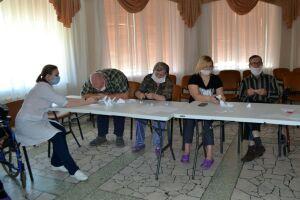 Жильцы Елабужского дома-интерната отметили 100-летие ТАССР