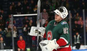 Лучший голкипер КХЛ рассказал о конкуренции между вратарями в «Ак Барсе»