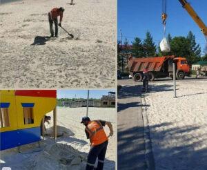 Городской пляж Альметьевска готовится к купальному сезону