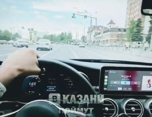 Полицейские нашли девушку, превысившую на иномарке скорость на 80 км/ч в Казани