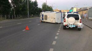 Попавший в ДТП в Казани автомобиль полицейских спешил на задание