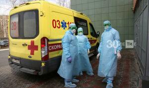 В Челнах перестало расти число ежедневно выявляемых больных Covid-19