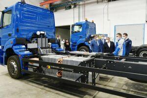 КАМАЗ создал первый в своей истории грузовой электромобиль «Чистогор»