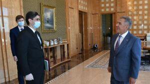 Президент РТ поздравил Генконсула Туркменистана с назначением на должность