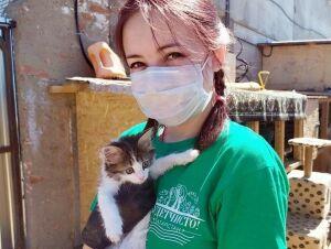 Волонтеры Нижнекамска помогли бездомным животным в приюте «Хвостики»