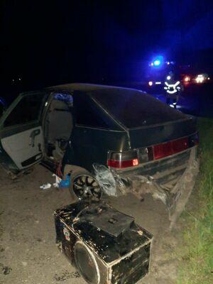 Четыре человека пострадали в аварии с двумя легковушками и трактором в Татарстане