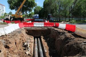 В Челнах теплосетевики досрочно подали горячую воду в БСМП и Тукаевскую ЦРБ