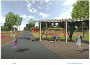 В парке «Спортивный» Нурлата началось строительство второй очереди