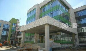 Новую полилингвальную школу на Бондаренко примут в собственность РТ с 1 сентября