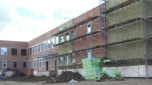 Новая Школа в Алексеевском районе находится в высокой степени готовности